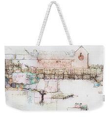 Rockport  Fishing Village Weekender Tote Bag