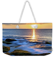 Rockport Golden Sunset Ma. Weekender Tote Bag
