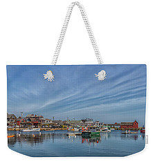 Rockport Harbor Weekender Tote Bag by Brian MacLean
