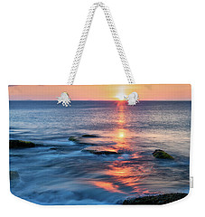 Rockport Pastel Sunset Ma. Weekender Tote Bag