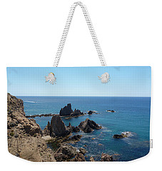 Rocks And Blue Weekender Tote Bag