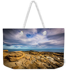 Rocks And Clouds. Weekender Tote Bag