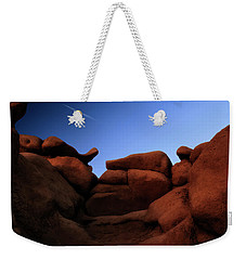 Rocks And Sky At Goblin Valley  Utah Weekender Tote Bag by Gary Warnimont