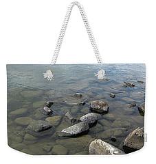 Rocks And Water Too Weekender Tote Bag