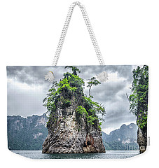 Rocks At Khao Sok Weekender Tote Bag