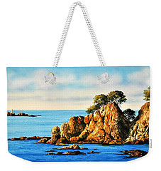 Rocks At Palafrugel,calella, Spain Weekender Tote Bag