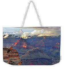 Rocks Fall Into Place Weekender Tote Bag
