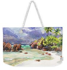 Rocks Of Motu Rakau, Aitutaki Weekender Tote Bag
