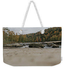 Rocks On Cumberland River Weekender Tote Bag