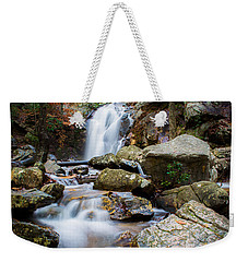 Weekender Tote Bag featuring the photograph Rocky Beauty by Parker Cunningham
