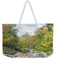 Rocky Creek Shut-ins Weekender Tote Bag by Julie Clements