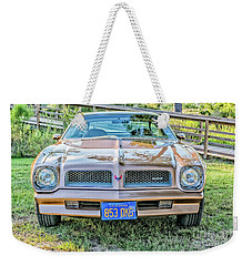 Rocky Front Center Weekender Tote Bag