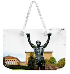 Rocky I Weekender Tote Bag by Greg Fortier