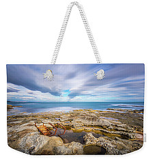 Weekender Tote Bag featuring the photograph Rocky Landscape by Gary Gillette