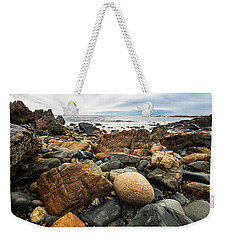 Rocky Maine Coast Weekender Tote Bag