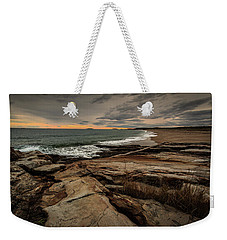 Rocky Maine Shoreline  Weekender Tote Bag