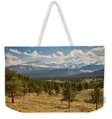 Rocky Mountain Afternoon High Weekender Tote Bag by James BO Insogna