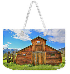 Rocky Mountain Barn Weekender Tote Bag