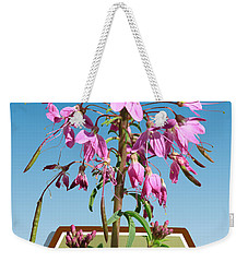 Rocky Mountain Bee Plant Weekender Tote Bag