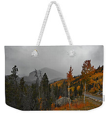 Rocky Mountain Color Weekender Tote Bag