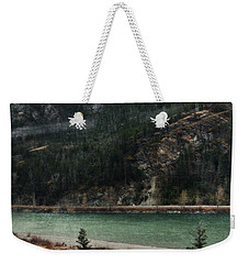 Rocky Mountain Foothills Montana Weekender Tote Bag by Kyle Hanson