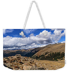 Rocky Mountain National Park Colorado Weekender Tote Bag