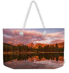 Rocky Mountain National Park Sunrise Weekender Tote Bag