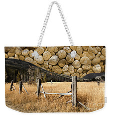 Weekender Tote Bag featuring the photograph Rocky Mountain Sky by John Stephens