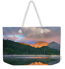 Rocky Mountain Weekender Tote Bag by Tim Fitzharris