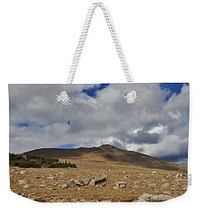 Rocky Mountain Tundra Weekender Tote Bag