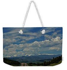 Colorado Rocky Mountain High Weekender Tote Bag