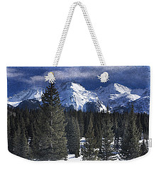 Rocky Mountains, Colorado Weekender Tote Bag