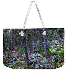 Weekender Tote Bag featuring the photograph Rocky Nature Landscape by James BO Insogna