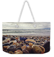 Rocky Shore Weekender Tote Bag by April Reppucci
