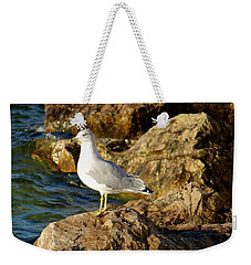 Rocky Waters Weekender Tote Bag