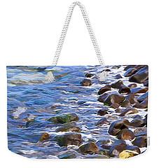 Rocky Shores Weekender Tote Bag