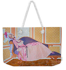 Rococo Coquette -- Mme. Pompadour, #2 In Famous Flirts Series Weekender Tote Bag