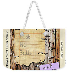 Rod Mckuen Tribute Poster Weekender Tote Bag