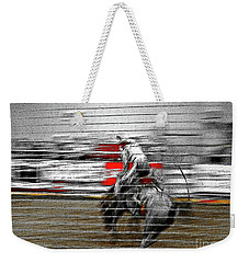 Rodeo Abstract V Weekender Tote Bag