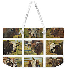 Rodeo Royalty Weekender Tote Bag by Lori Brackett