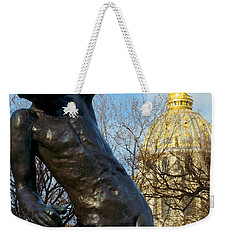 Rodin Playing With Napoleon Weekender Tote Bag