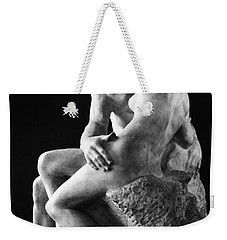 Weekender Tote Bag featuring the photograph Rodin: The Kiss, 1886 by Granger