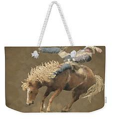 Rodeo Rider Weekender Tote Bag by Kathie Miller