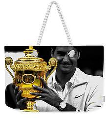 Roger Federer 2a Weekender Tote Bag
