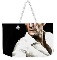 Roger Moore Weekender Tote Bag by Sergey Lukashin