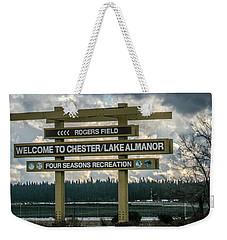 Rogers Field Weekender Tote Bag