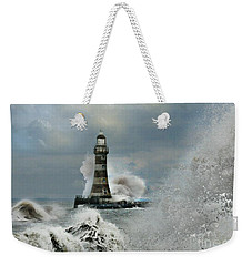 Roker Pier And Lighthouse Weekender Tote Bag