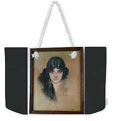 Rolf Armstrongs Dream Girl 1929 Weekender Tote Bag
