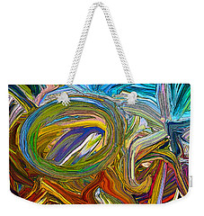 Rolling Circle Weekender Tote Bag