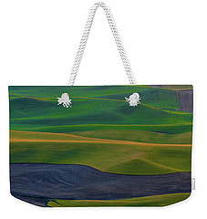 Rolling Fields Of The Palouse Weekender Tote Bag by James Hammond